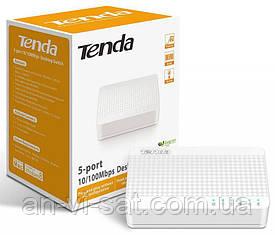 Сетевой комутатор Tenda S105(5 портов)