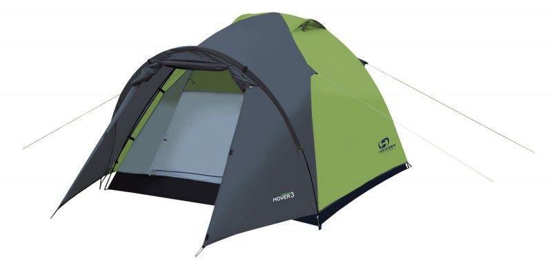 Палатка Hannah Hover 4 spring green/cloudy gray