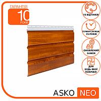 Подшива, Софит - Панель ASKO NEO дуб золотой без перфорации 3.5 м, 1.07 м2