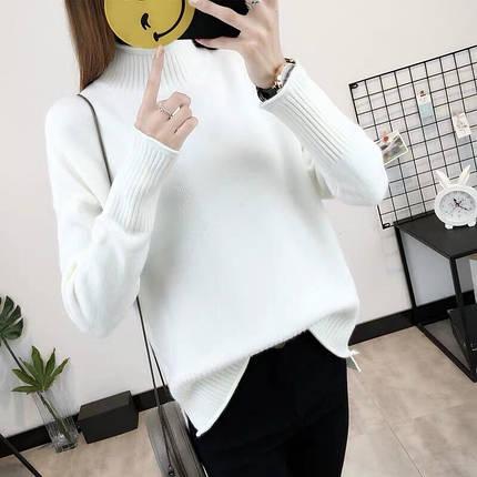 Женский мягкий свитер с длинным рукавом 42-44 р, фото 2