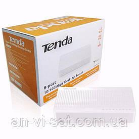 Сетевой комутатор Tenda S108(8 портов)