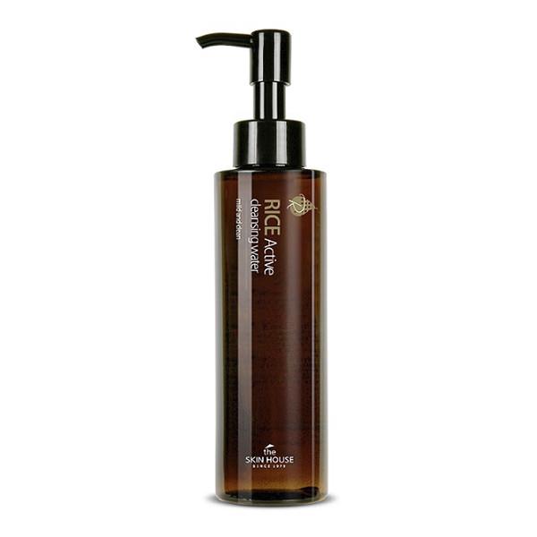 Средство для снятия макияжа на основе рисовых отрубей The Skin House RICE ACTIVE CLEANSING WATER, 150 мл