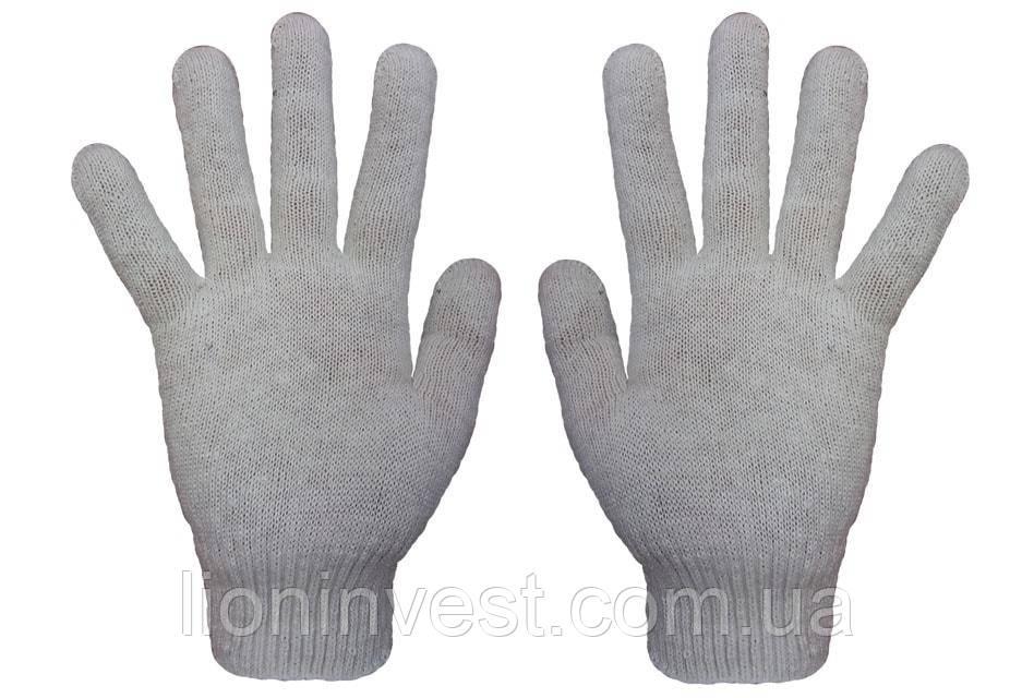 Перчатки трикотажные без ПВХ 7 класс