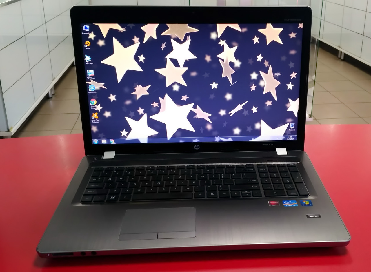 "Ноутбук HP ProBook 4730s 17.3"" Intel Core i5 2.5-3.1 GHz 4 GB RAM 500 GB HDD Silver Б/У"