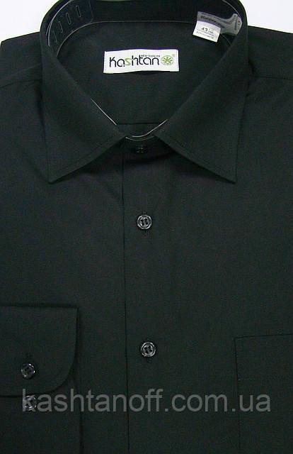 Чёрная мужская рубашка