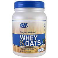Протеин Optimum Nutrition Whey&Oats 700 г Шоколад (4384300698)