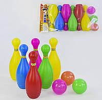 Детский игровой набор боулинг маленький, развлекательная игра