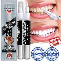 Карандаш для отбеливания зубов с активированным Углем и кокосовым маслом США Відбілювання зубів
