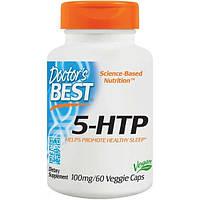 Жиросжигатель Doctor's Best 5-HTP 60 капсул (4384300746)