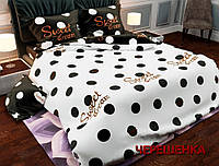 """Двуспальный набор постельного белья 180*220 из Бязи """"Gold"""" №157480AB Черешенка™"""