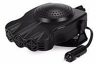 🔝 Автомобільний обігрівач, Aeroterma si Ventilator, 12V, Чорний, 150 W, обігрівач для машини | 🎁%