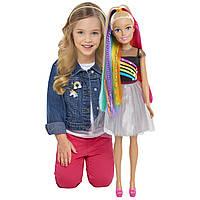 Кукла барби Лучшая подружка 70 см Barbie Best Fashion Friend 28 rainbow