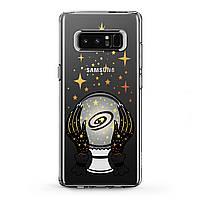 Чехол силиконовый для Samsung Galaxy (Магический шар) Note 10 Plus 5G/s6 Edge+/s7/s8 Activ/s9/s10e Plus самсунг галакси ноте эйдж плюс silicone case