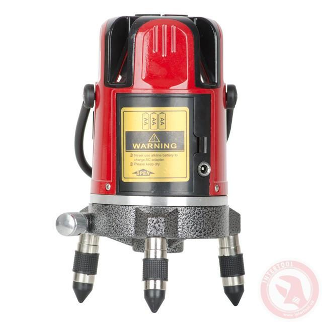 Уровень лазерный 635 Нм  INTERTOOL MT-3011