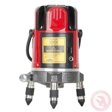 Уровень лазерный 635 Нм  INTERTOOL MT-3011, фото 2