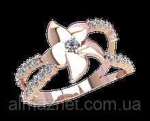 Золотое кольцо 585 пробы Фанагория