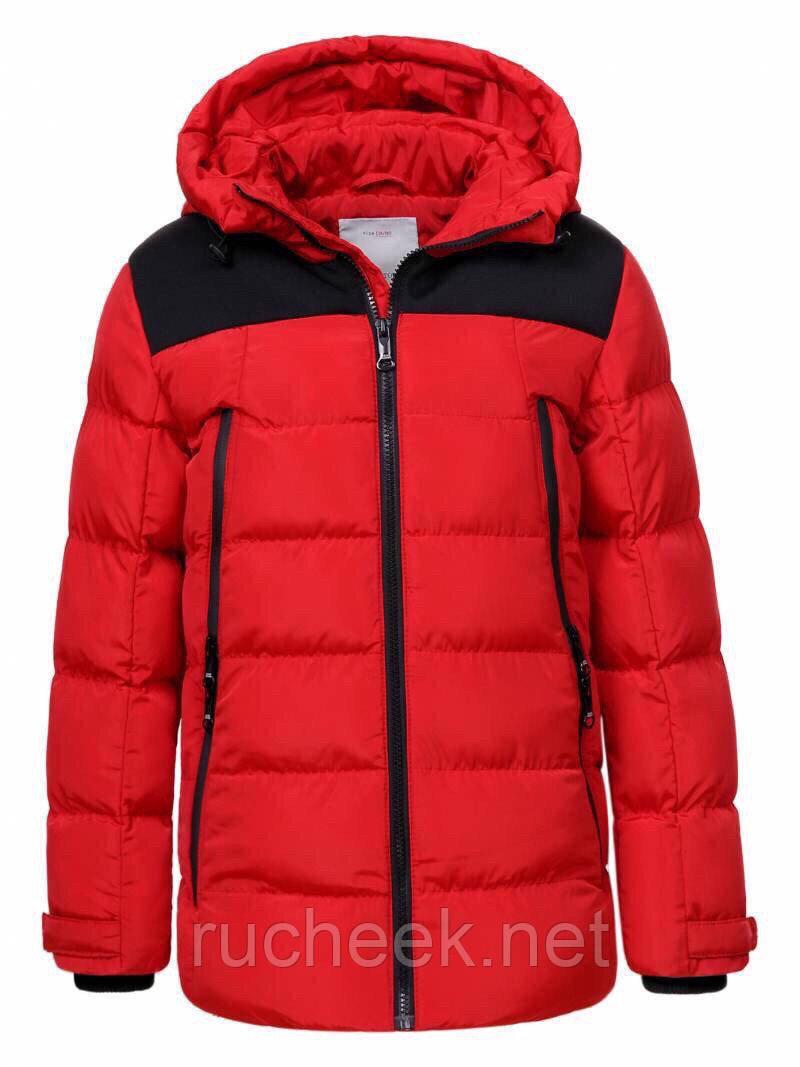 Зимняя куртка пуховик для мальчика. Куртки детские Glo-story