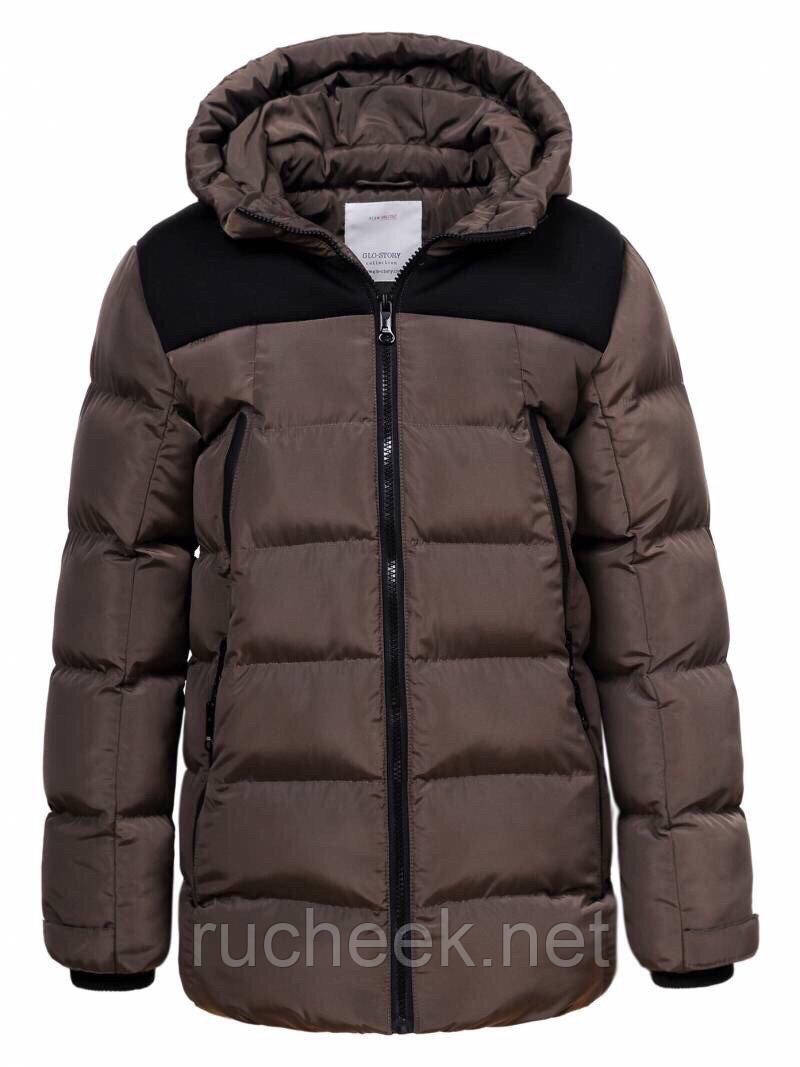Куртки зимние для мальчиков зима 2020 р - ры 134-152, Glo-story 9199 Венгрия