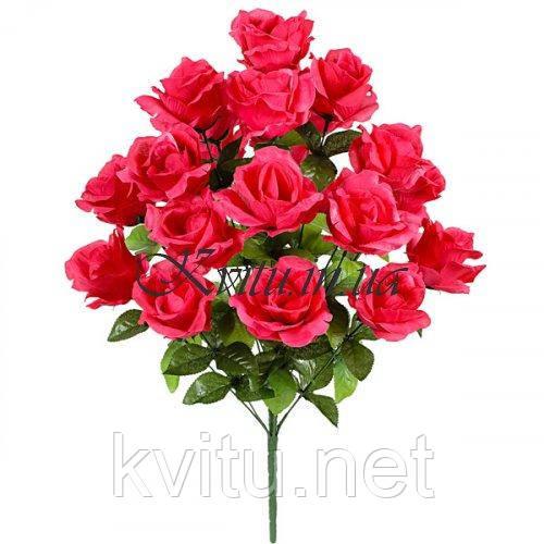 Букет искусственный куст роз Прованс, 65см
