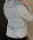 Женское пальто с пышным мехом, фото 6