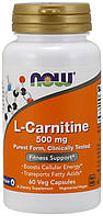 Жиросжигатель NOW L-Carnitine 60 капсул  (4384300818)