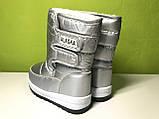 Дутики Сапоги Сноубутсы детские Зима Alaska 27 р 16,7 см, фото 8
