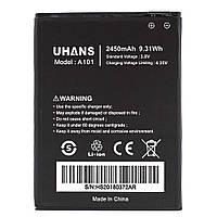 Аккумулятор для мобильного телефона Ergo F502 Platinum, (Li-ion 3.8V 2450mAh)