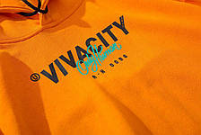 Мужская кофта VivaCity желтая  (унисекс), фото 3