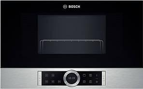 Вбудована мікрохвильова піч Bosch BEL634GS1 [900W, Гриль]