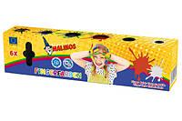 Краски пальчиковые непроливаемые MALINOS Fingerfarben 6 цветов