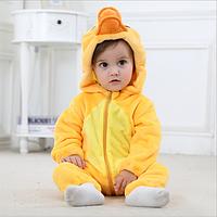 """Детская пижама кигуруми для девочки """"Утенок"""""""