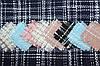 """Твід """"костюми Шанель"""" колір Темно синій пог. м. № 108"""
