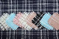 """Твід """"костюми Шанель"""" колір Темно синій пог. м. № 108, фото 1"""