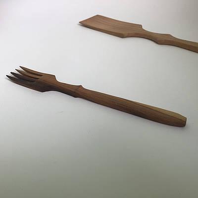 Вилка дерев'яна.