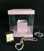 Прозора квадратна коробка (акваріум) 20/20/25, фото 1