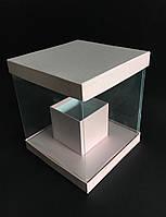 Прозора квадратна коробка (акваріум) 25/25/30