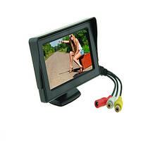 Монитор для камеры заднего вида 4.3 TFT LED под 2 камеры