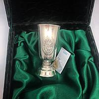 Чарка з срібла Харківський ювелірний завод з декоративним візерунком, фото 1