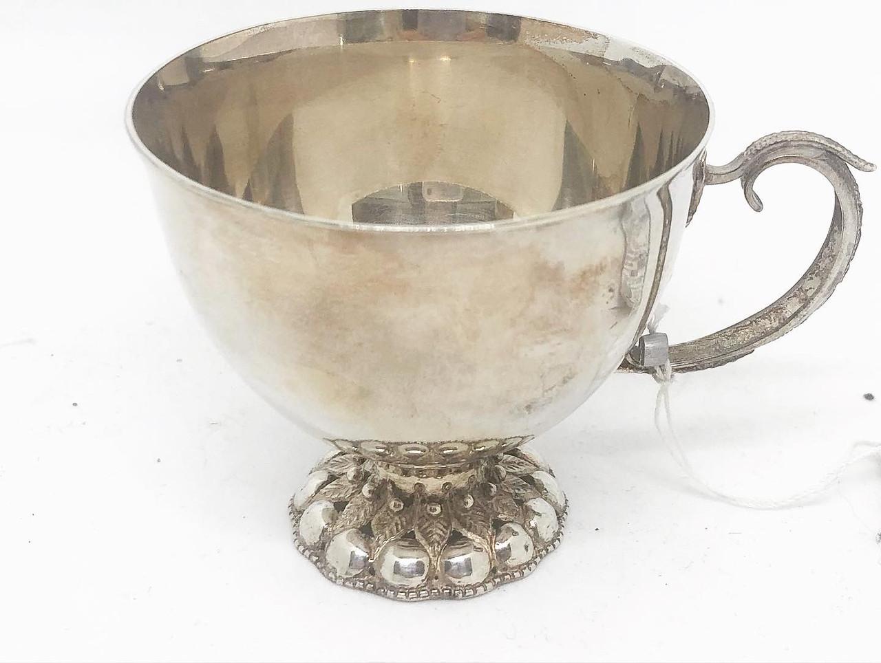 Набір Кавовий / кавова чашечка 1 шт з срібла 925 Харківський ювелірний завод