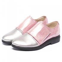 Туфли на липучке 8307 только 36 и 38 размеры, фото 3