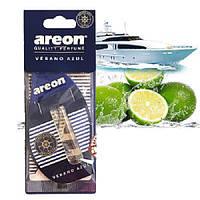"""Освеж.жидк 5ml - """"Areon"""" - Sport LUX - Verano Azul (лайм и морской бриз+бергамот) (24шт/уп)"""