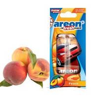 """Освеж.жидк 8,5ml - """"Areon"""" - Fresh(машинки) - Peach (Персик) (24шт/уп)"""