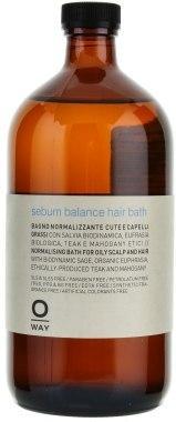 Шампунь для жирной кожи головы 950 мл.Oway Sebum Balance Hair Bath