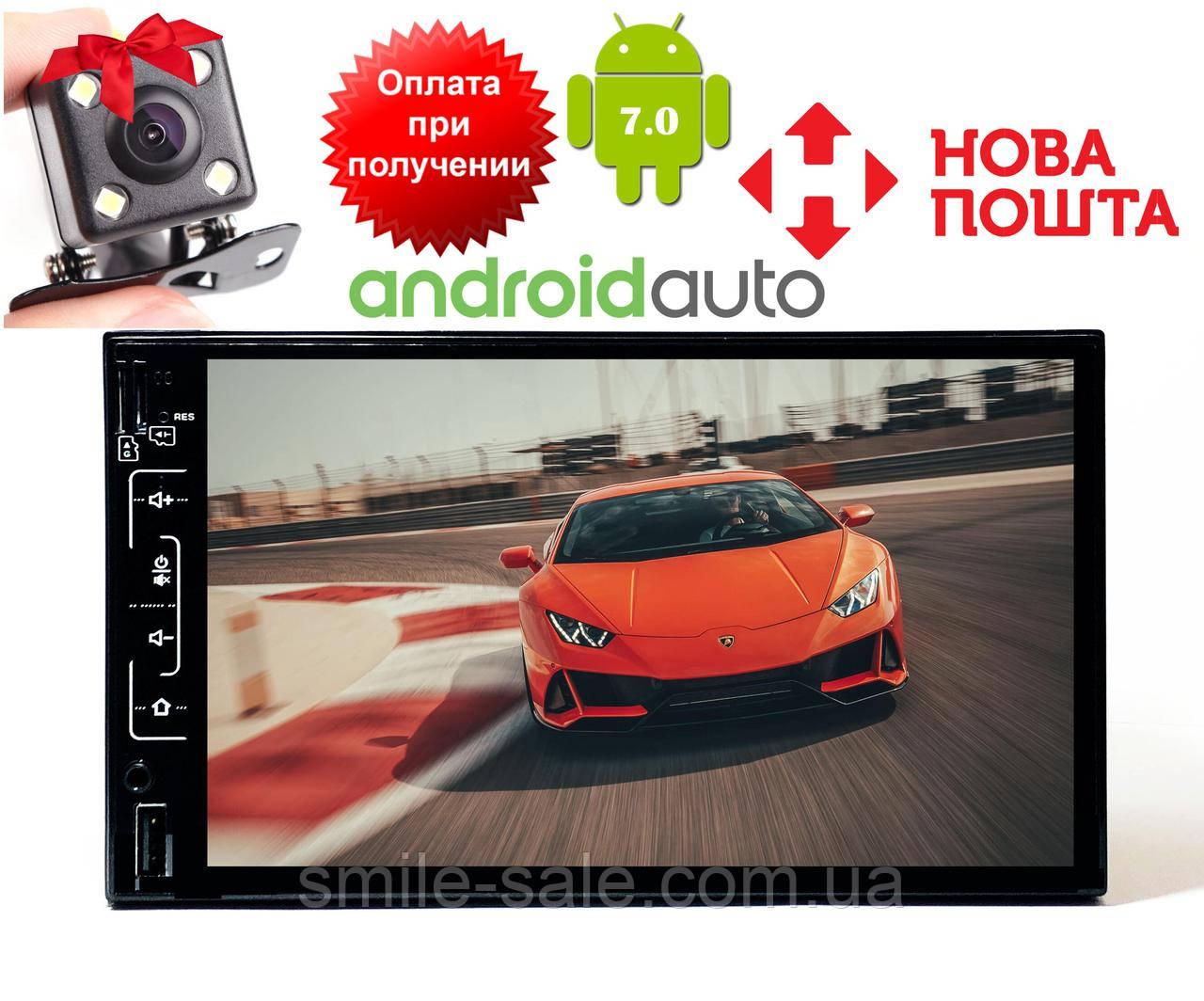 Автомагнитола 2DIN Pioneer FY6511B Android 6, 3USB/Wi-fi/GPS/BT/7  НОВИНКА!