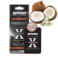 """Освеж.сухой листик - """"Areon"""" - X-version - Coconut (Кокос) (10шт/уп)"""