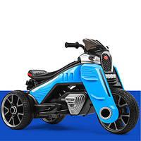 Электромобиль Мотоцикл M 4113EL-4 голубой BAMBI