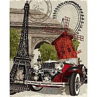 Картина по номерам в коробке Париж VP689 40x50 см Babylon Turbo