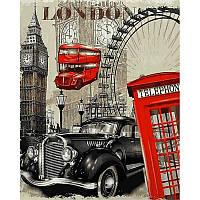 Картина по номерам в коробке Лондон VP690 40x50 см Babylon Turbo