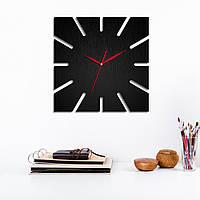Деревянные часы Декор из натурального дерева Уникальные предметы интерьера Украшения для дома Размер 35x35 см