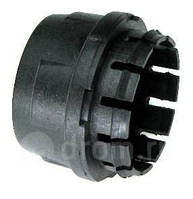Колпачок ступицы 2108,09 черн/бел.эмб. (1шт) без в упаковке
